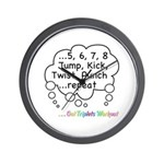 The Triplets Workout Wall Clock