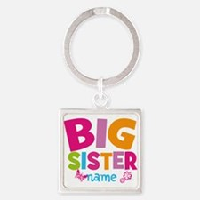 Personalized Name - Big Sister Keychains