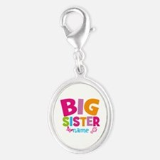 Personalized Name - Big Sister Charms