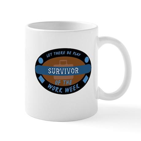 Survivor of the Work Week Mug