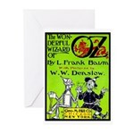 Wonderful Wizard of Oz Greeting Cards (Package of