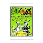 Wonderful Wizard of Oz Mini Poster Print