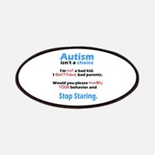 Autism isn't a choice Patches