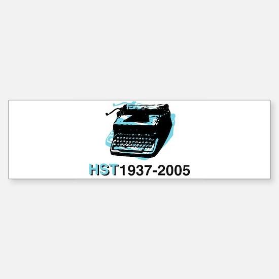 typewriter-tag Bumper Bumper Bumper Sticker