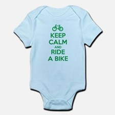 Keep Calm and Ride a Bike Body Suit