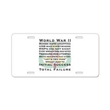 EOD WWII - ISoTF Aluminum License Plate