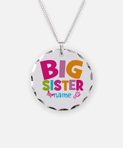 Personalized Name - Big Sister Necklace