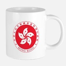 Hong Kong Coat Of Arms Mugs