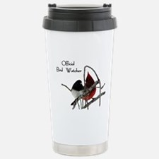 Official Bird Watcher Stainless Steel Travel Mug