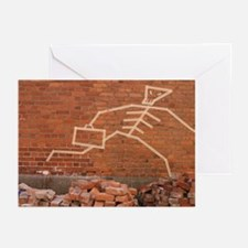 Skeleton Greeting Cards (Pk of 10)