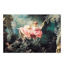 Fragonard The Swing Postcards (Package of 8)