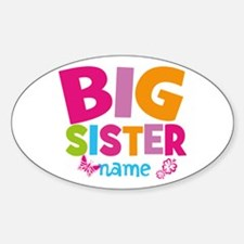 Personalized Name - Big Sister Decal