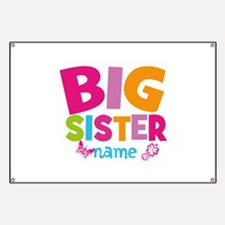 Personalized Name - Big Sister Banner