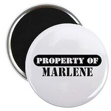 Property of Marlene Magnet