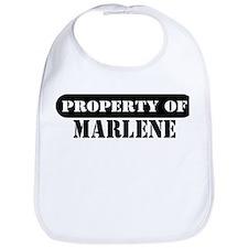 Property of Marlene Bib
