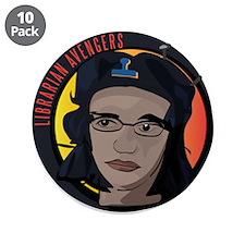 "Librarian Revolution 3.5"" Button (10 pack)"