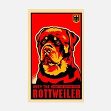 Obey the ROTTWEILER! Dictator Decal