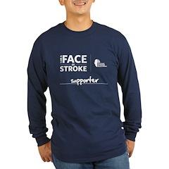 Supporter Men's Long Sleeve T-Shirt