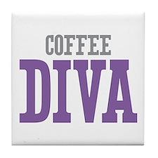 Coffee DIVA Tile Coaster
