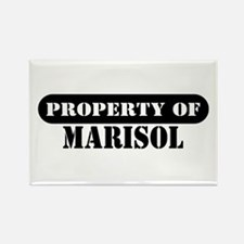 Property of Marisol Rectangle Magnet