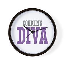 Cooking DIVA Wall Clock