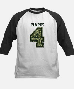 Personalized Camo 4 Baseball Jersey