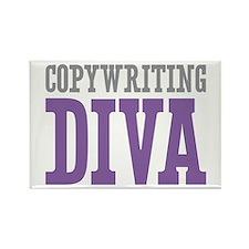 Copywriting DIVA Rectangle Magnet
