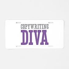 Copywriting DIVA Aluminum License Plate