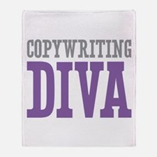 Copywriting DIVA Throw Blanket