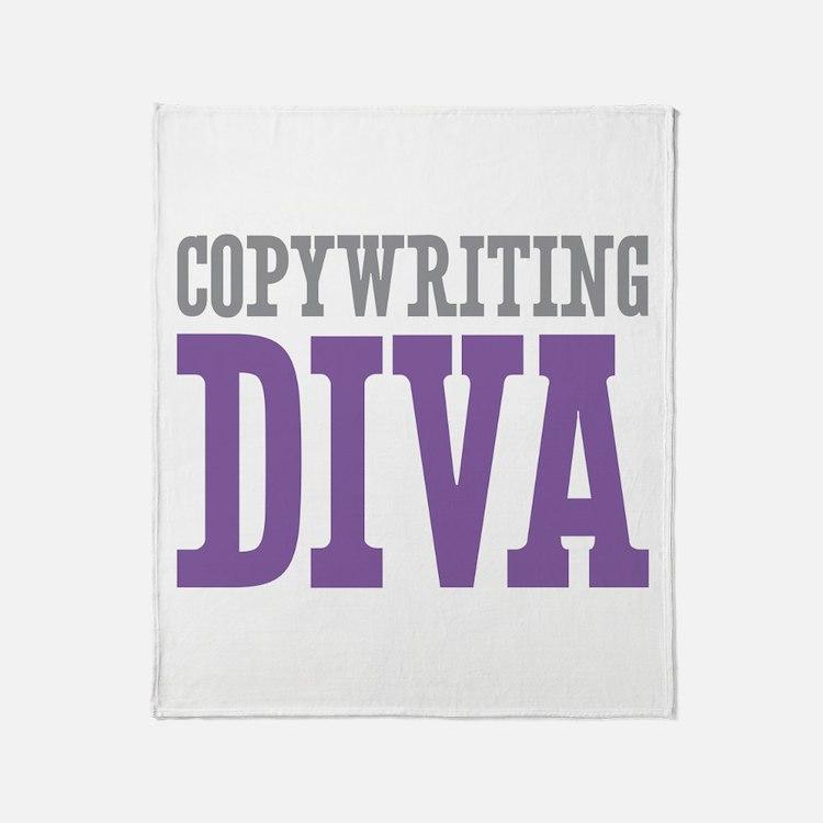 Copywriting DIVA Throw Blanket