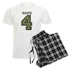 Personalized Camo 4 Pajamas