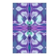 'Virtual Violets' Postcards (Package of 8)