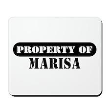 Property of Marisa Mousepad