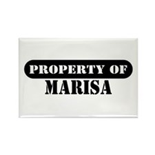 Property of Marisa Rectangle Magnet