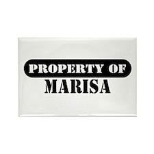 Property of Marisa Rectangle Magnet