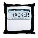 Colorado Tracker Throw Pillow