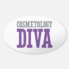 Cosmetology DIVA Sticker (Oval)