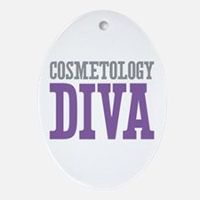 Cosmetology DIVA Ornament (Oval)