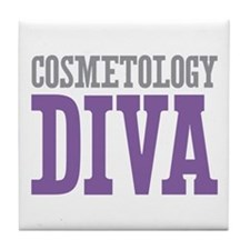 Cosmetology DIVA Tile Coaster