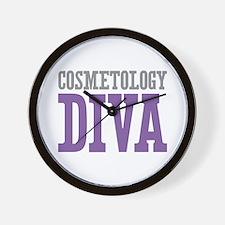 Cosmetology DIVA Wall Clock