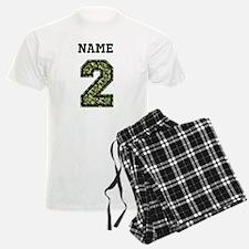 Personalized Camo 2 Pajamas