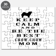 Keep Calm Chow Chow Designs Puzzle