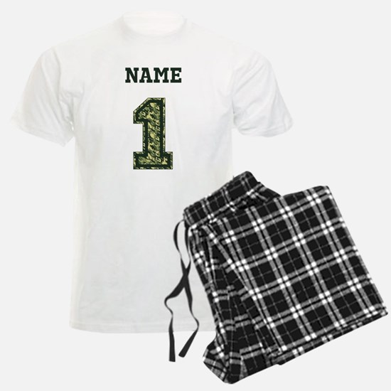 Personalized Camo 1 Pajamas