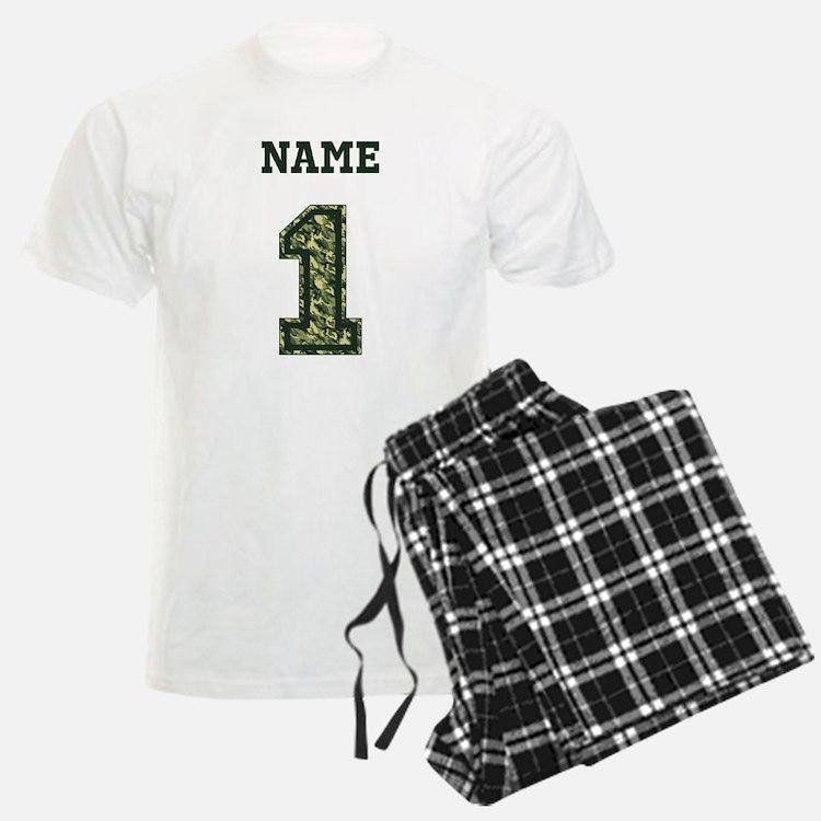 Personalized Camo 1 Pajamas
