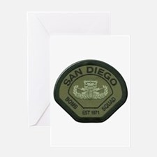 San Diego Bomb Squad Greeting Card