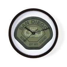 San Diego Bomb Squad Wall Clock