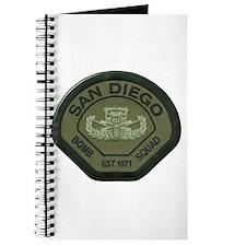 San Diego Bomb Squad Journal