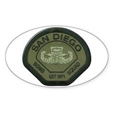 San Diego Bomb Squad Decal
