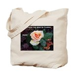 Words of Faith Tote Bag