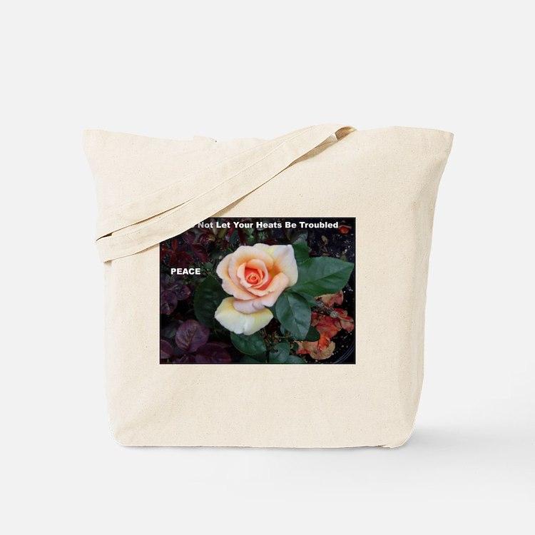 Words of Faith Tote Bag